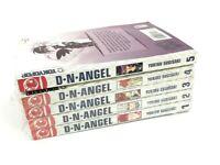 Manga D N Angel Yukiru Sugisaki Tokyopop Volume 1-5 Paperback Books