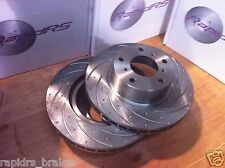 BMW X5 E70, F15, X6 F16  SLOTTED DISC BRAKE ROTORS  PERFORMANCE 332mm FRONT PAIR