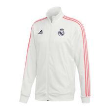Adidas Real Madrid 3 Stripes Chaqueta de Entrenamiento Blanco