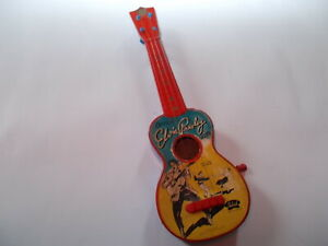 "SUPER RARE 1957 ELVIS PRESLEY SELCOL "" UKETTE "" TOY GUITAR"