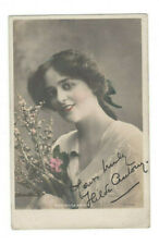 Hilda Antony Signed Postcard Photo Early 1900s /Actor Autographed