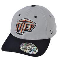 NCAA Zephyr Texas El Paso Miners Utep Flex Fit Medium Large Hat Cap Curved Bill