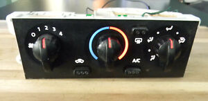 Nissan Xterra Frontier Climate Heater A/C Control 01-04  F1121NXT