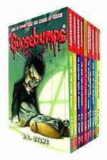 Goosebumps Series 10 Books Collection Set (Classic Covers), R.L.Stine, New, Book