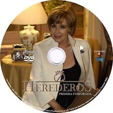 """ESPAÑA,SERIES,""""HEREDEROS"""" 1RA, 2DA Y 3RA (3)TEMPORADAS, 12 DVD, 2007-09"""