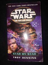 Star Wars New Jedi Order Star By Star Troy Denning 2002 science fiction mmpb tpb