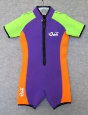 Wetsuit for Children Spring Suit Short Wetsuit, Front Zip, Size 10
