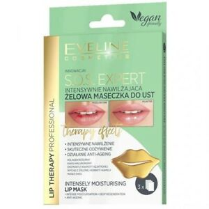Eveline Lip Therapy Professional S.O.S. Expert Moisturizing Gel Lip Mask 1-pack