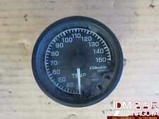 JDM Black Face Greddy Temp gauge for water temp, or oil temp. 30C to 150C Range