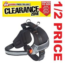 CLEARANCE FERPLAST - Hercules LARGE Professional Use Dog Harness BLACK 1/2 PRICE