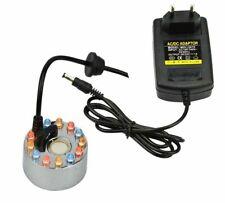 24V 12 LED Ultrasonic Mist Maker Fogger Ultrasonic Diffuser Humidifier Home