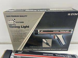 New Vintage CRAFTSMAN TIMING LIGHT 282134 Sears Premium Quality +Clamp & Leads