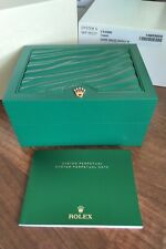 ROLEX OYSTER PERPETUAL 114300 WATCH BOX, OUTER, INSTRUCTIONS