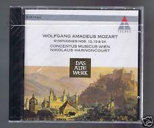 MOZART CD NEW SYMPHONIES 12.19.24 / NIKOLAUS HARNONCOURT/ CONCENTUS MUSICUS WIEN