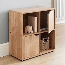 Puerta De Roble 4 Cube 2 unidad de almacenamiento de madera estantería estantería estantes estante de exhibición