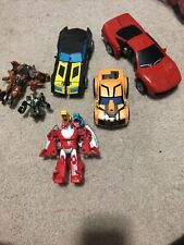 Mixed Transformers Action Figures Lot of 6