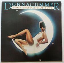 DONNA SUMMER LP FOUR SEASONS OF LOVE 33 GIRI ITALY 1976 DURIUM D AI 30257 NM/NM