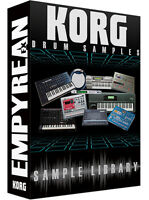 KORG Drum Machine And Synth WAV Samples Library