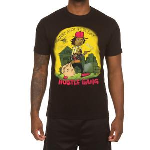 Men's Hustle Gang Black Ritchie Richer T-Shirt