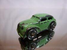 METAL VINTAGE CLASSIC USA CAR - GREEN L4.0cm - GOOD CONDITION