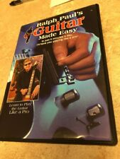 Ralph Paul's Guitar Made Easy 6 DVD Set Learn to Play 5 Minutes A Day