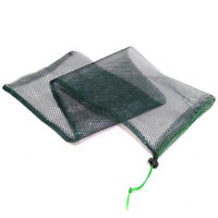 2PCS 70X20CM nylon Carp Bag Fish Keeper Net Fish basket Fishing Tackle CageE Ut