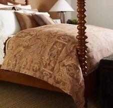 Ralph Lauren ~ Bellosguardo ~ Cream Taupe European Euro Linen Pillow Sham ~ New
