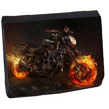 Biker Mens Boys Wallet Personalised Wallet