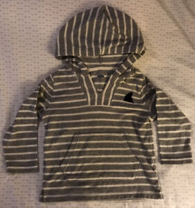 OLD NAVY Boys Hooded Long Sleeve Swim Cover-up in Size XS (5)