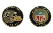 NEW ORLEANS SAINTS NFL FOOTBALL POLICE MILITARY TYPE CHALLENGE COIN HELMET BREES
