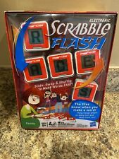HASBRO SCRABBLE FLASH ELECTRONIC GAME 2010 BRAND NEW SEALED FREE SHIPPING
