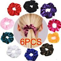 50 Pcs Girls women Velvet Girls Hair Scrunchies Elastic bands Scrunchy Ties lot