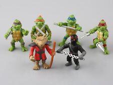 6pcs Teenage Mutant Ninja Turtles TMNT Figurines Collection Jouets Set Cadeau