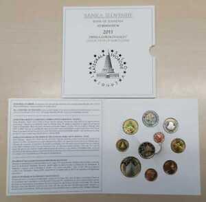 Slowenien  Euro-Kursmünzensatz 2011 stempelglanz (8,88 Euro)  Nur 15.000 Stück!