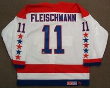 Tomas Fleischmann Mike Gartner Capitals Retirement Night Auto/Worn Jersey