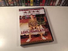Lost In Translation New Widescreen Drama Dvd 2003 Bill Murray Scarlett Johansson