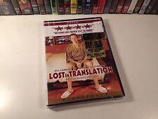 Lost In Translation New Widescreen Drama Dvd 2003 Bill Murray Scarlett Johansson