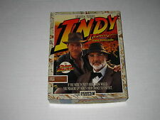 Indiana Jones The Last Crusade: The Graphic Adventure (Amiga, 1989) Rare Game
