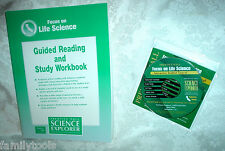 Prentice Hall LIFE Science 7th Grade 7 CD ROM & WORKBOOK  HOMESCHOOL PACKAGE LOT