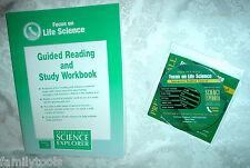Prentice Hall LIFE Science 7th Grade 7 CD ROM & WORKBOOK  HOMESCHOOL PACKAGE LOT