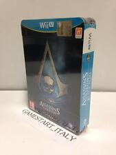 ASSASSIN'S CREED 4 IV BLACK FLAG SKULL EDITION NINTENDO WII U NUOVO VERSIONE ITA