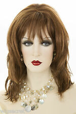 Auburn Red Medium Wavy Wigs