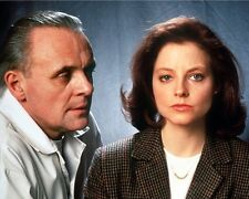 Silence of the Lambs Anthony Hopkins Jodie Foster 10x8 Photo
