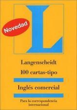 Langenscheidt 100 Cartas-Tipo Ingles Comercial: Para la Correspondencia Interna