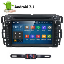 Double 2DIN In Dash Car Stereo DVD Player GPS NAV RDS 4G BT Radio For ACADIA GMC