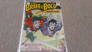 The Brave and the Bold #14 1957 Robin Hood cover DC Comics Vintage 10 Cover HTF