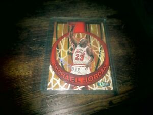 97/98 ULTRA MICHAEL JORDAN BIG SHOTS INSERT  #1
