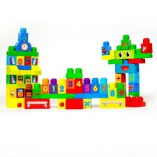 ihubdeal Large Toddler Kids Educational Building Block Toys - 60-Pieces Set