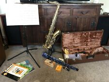 More details for yamaha yts 25 tenor saxophone + extras vgc musical instrument last price