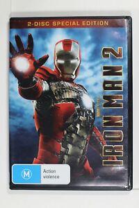 Iron Man 2 (DVD, 2010, 2-Disc Set) - Region 4 - Preowned (D359)